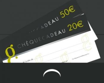 Chèque-cadeau de 20 €