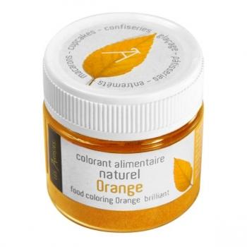 Colorant alimentaire orange naturel