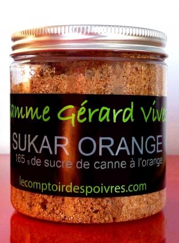 Sucre à l'orange