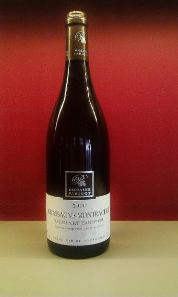 """Chassagne Montrachet """"Clos Saint Jean"""" 1er Cru 2010"""